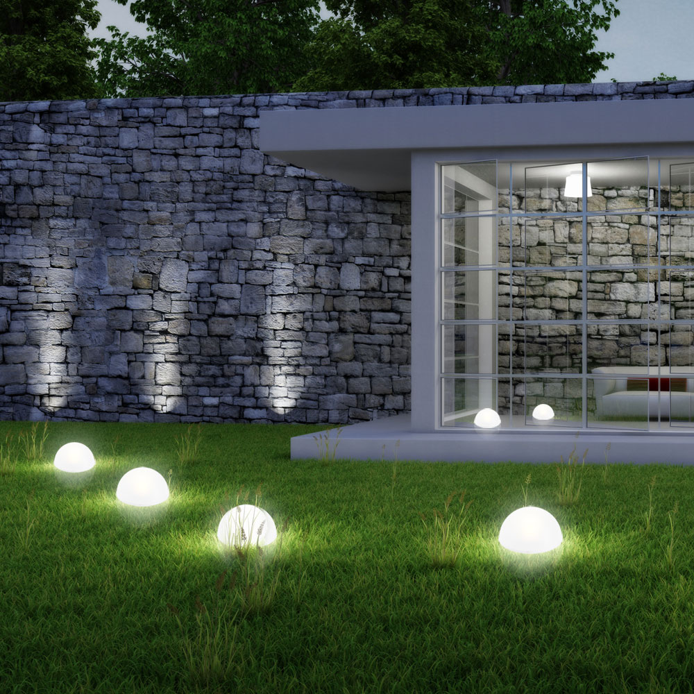 boule lumineuse int rieur jardin piscine luminaires. Black Bedroom Furniture Sets. Home Design Ideas