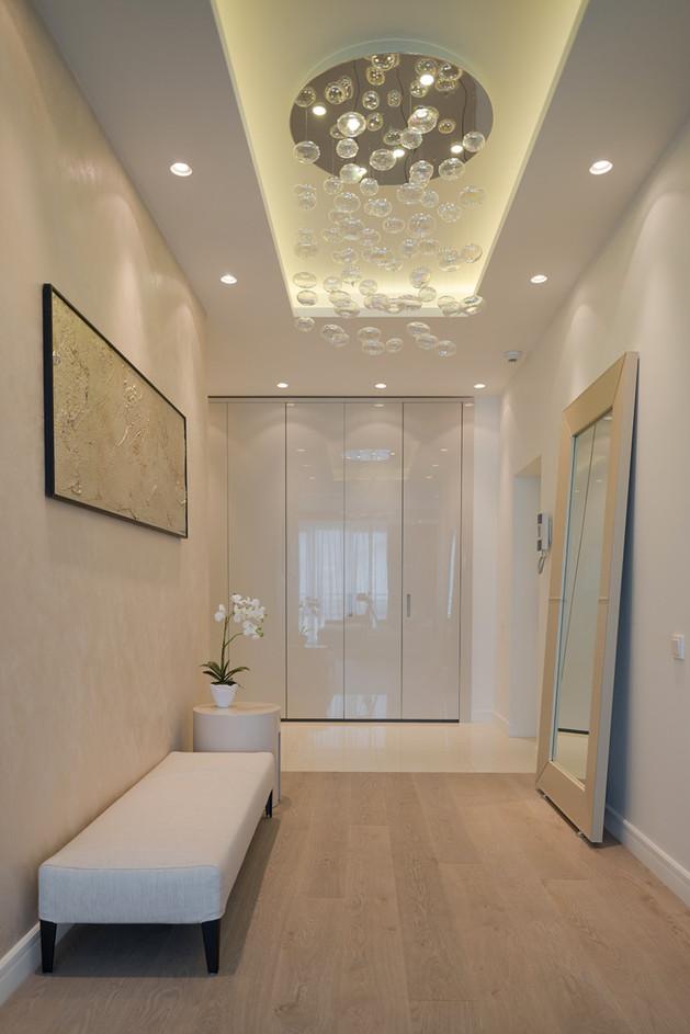 Clairage d une entr e ou d un vestibule luminaires design luminaires design - Decoration platre couloir ...