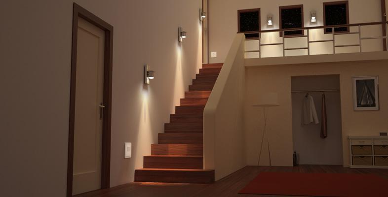 Eclairage D Un Escalier Conseils Eclairage Interieur Luminaires