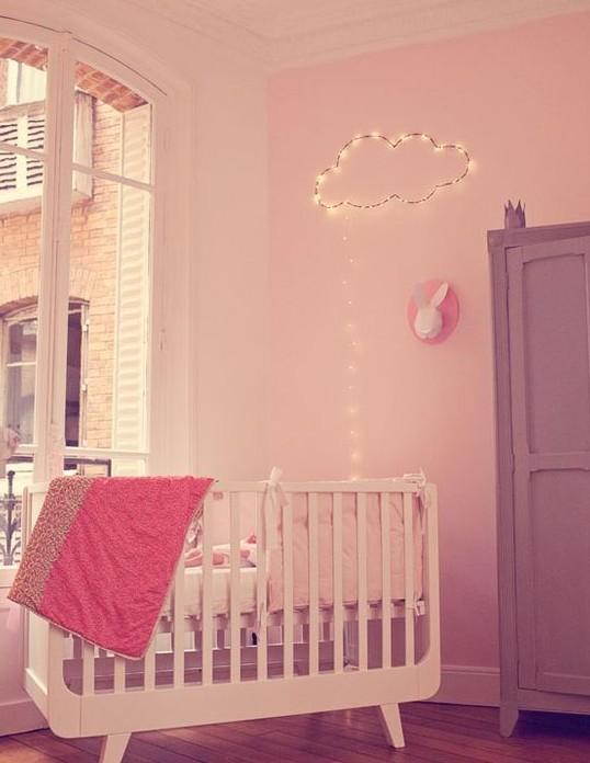 un clairage tout doux pour la chambre de votre b b luminaires design. Black Bedroom Furniture Sets. Home Design Ideas