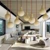 Mise en lumière et éclairage décoratif d'un séjour ou d'un salon