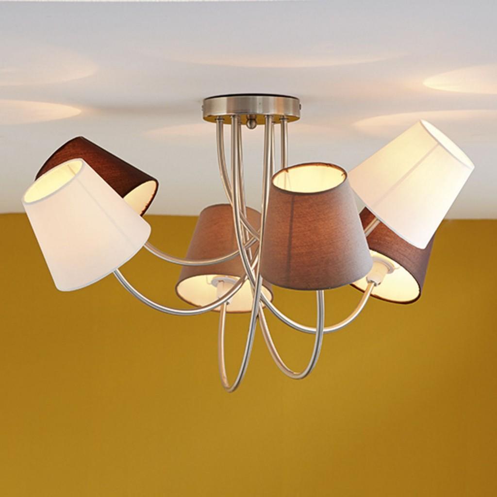lustre plafonnier moderne