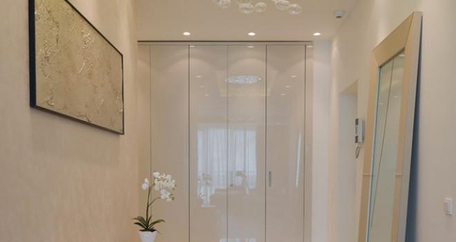 Éclairage d'une entrée ou d'un vestibule