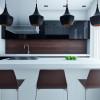 Mise en lumière et éclairage décoratif d'une cuisine