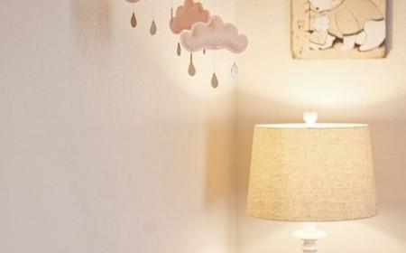 Un éclairage tout doux pour la chambre de votre bébé